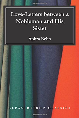 Read Online Love-Letters between a Nobleman and His Sister pdf epub