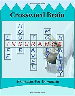 Crossword Brain Exercises For Dementia: Crossword Word
