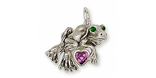 Quality Gold Frog Charm - 9