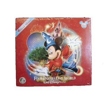 Official Disney WDW CD 'Four Parks - One World'