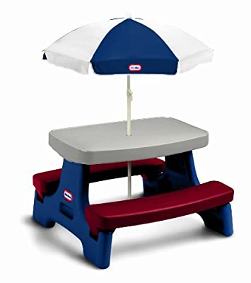 Little Tikes Easy Store Jr Play Table With Umbrella by Little Tikes
