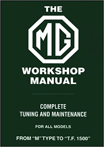 amazon mg workshop manual from m type to t f 1500 workshop