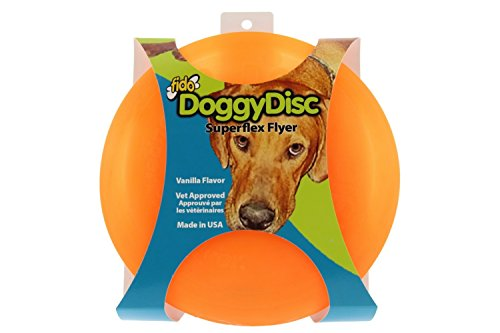 Superflex Flyer Vanilla Flavor Doggie Disk (Colors Will Vary)