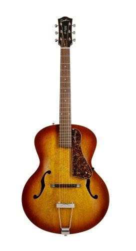 Godin 5th Avenue Archtop Jazz-Style Acoustic Guitar (Cognac Burst)