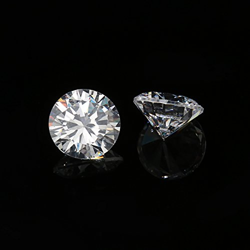 12mm Flawless Clear Cubic Zirconia Stones Round Brilliant-Cut Cz Stone Settings - Cubic Zirconia Beads Wholesale