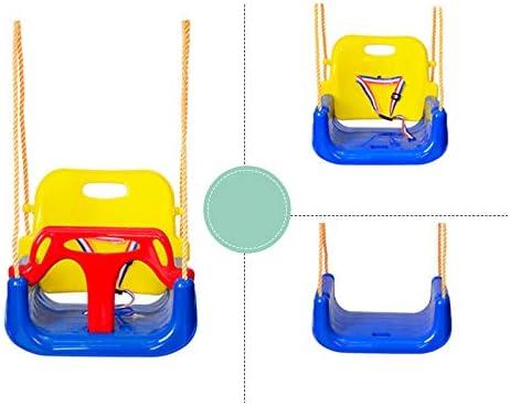 ジャングルジム・ブランコ 1つのベビースイングシートに付き3つ、 子供のUスイングボードスイングロッキングチェアロッキング屋外遊び場スイング ぶらん Green