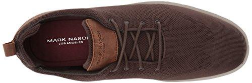 Marchio Nason Los Angeles Mens Bradmoor Marrone Sneaker