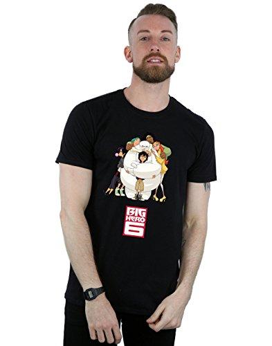 Man Disney negro camiseta Hug Hero Big Baymax 6 ArFqrd