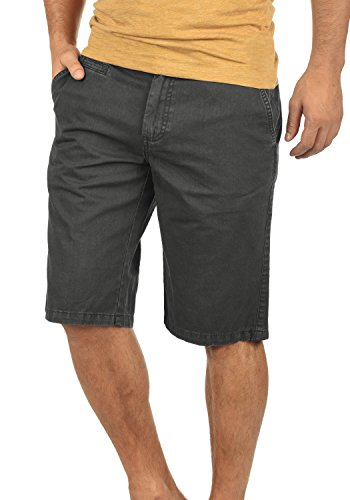 Bermuda Coupe 2890 Grey Régulaire Viseu Chino Coton Dark Homme Short solid Pantalon Court 100 Hqt6pa