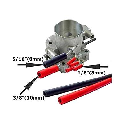 LC Engineering- 1072440-22RE Silicone Vacuum Hose Kit Blue: Automotive