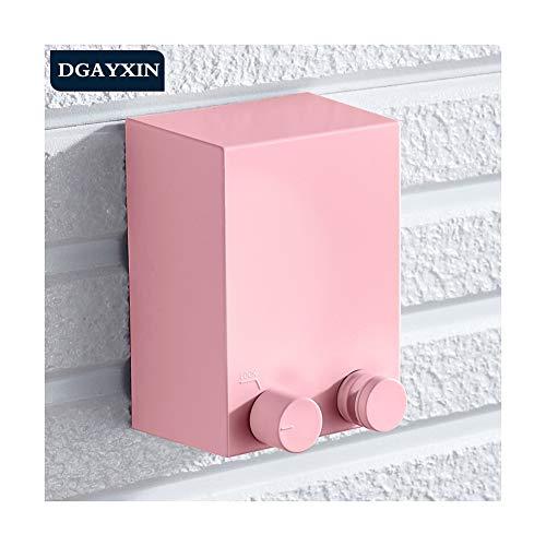 DGYAXIN Retractable Clothesline, Clothesline, Travel Clothesline, Retractable Clothesline Outdoor Indoor, 4.2m/ 13.7ft Retractable Clothesline, Balcony Patios Laundry Hotel,Pink