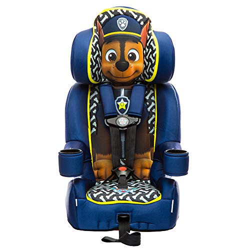 KidsEmbrace 2-in-1 Harness Booster Car Seat, Nickelodeon Paw Patrol Chase]()