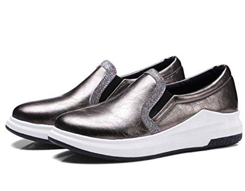 Donne YCMDM donne spesse calze tacchi alti scarpe Carrefour scarpe grandi dimensioni 40-43 scarpe singole , gold , 39