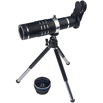 900c0db4f55e23 Smart Phone Camera Lens 18X Telephoto Lens Optical Manual Zoom Telescope  Lens with Tripod and Clamp
