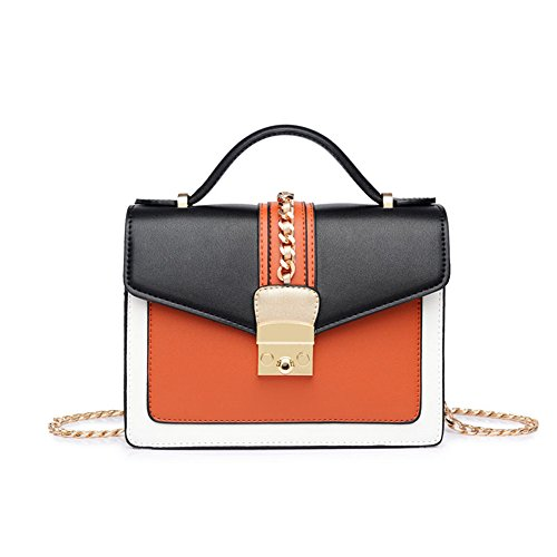 Squash Single With Bag Small Bag Inclined Shoulder Bag Bag Girls Pumpkin For Chain A qYOwq8