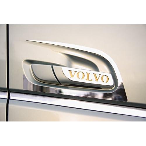 Décoration de poignée de portière pour Volvo FH4en acier inoxydable, 4 articles