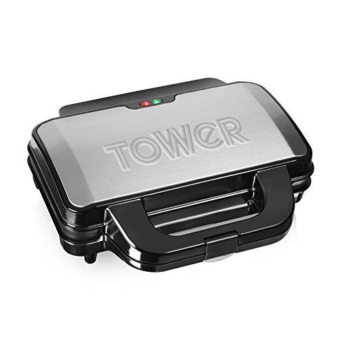 Tower Sandwich Maker, Black
