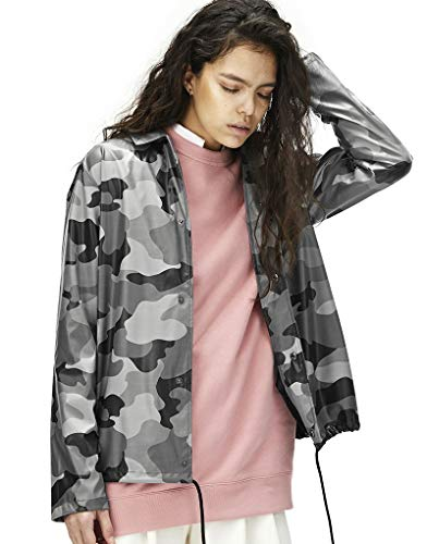 Femme Rains Unique Taille Manteau Multicolore qpSq4wTX