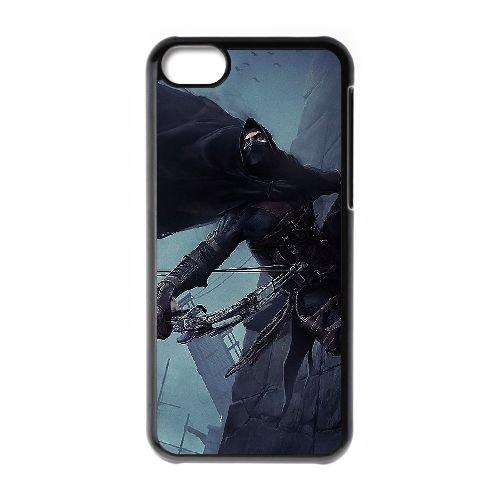 Thief Jeu Vidéo VX81FK9 coque iPhone Téléphone cellulaire 5c cas coque X5CJ1F5CB