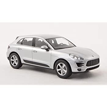 Porsche Macan, silver, 2013, Model Car, Ready-made, I-Minichamps 1:43