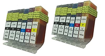 Compatible Ink Cartridge Replacement for Canon PGI-220 CLI-221
