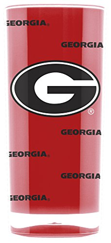 - NCAA Georgia Bulldogs 16oz Insulated Acrylic Square Tumbler