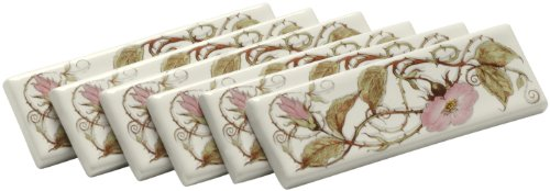 KOHLER K-14203-BR-96 Briar Rose Decorative Strip Tile, Biscuit ()