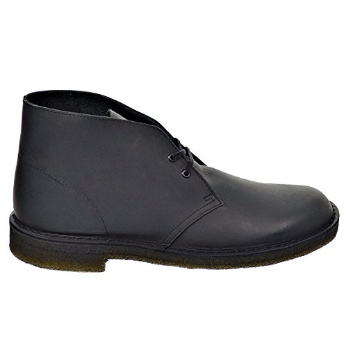 clarks-originals-mens-desert-black-leather-boots-11-us