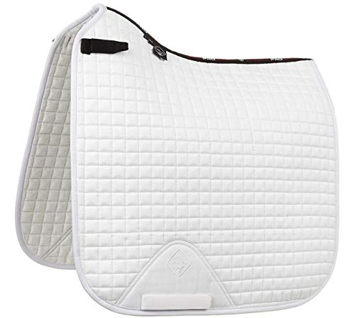 Lemieux Prosport Lustre/suede Dressage Square (d-ring), used for sale  Delivered anywhere in USA
