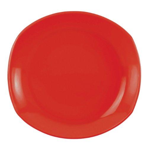 DANSK Classic Fjord Dinner Plate, Chili (Dansk Round Bowls)