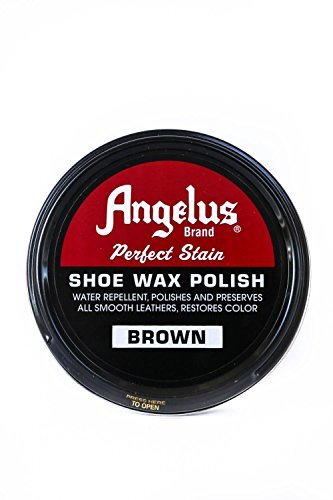 Angelus Shoe Wax Polish 3fl Oz ( Color Variety) (Brown)
