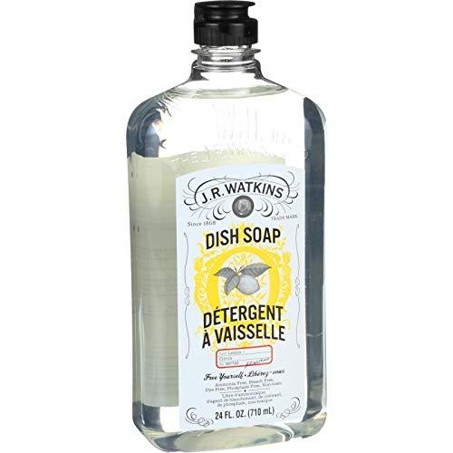J R Watkins, Dish Soap Lemon, 24 Fl Oz (J R Watkins Toilet Cleaner)