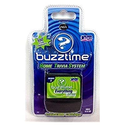 Buzztime Everything Trivia Cartridge: Toys & Games
