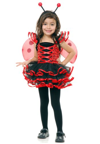 Lady Bug Cutie Toddler Costume, 2/4T, (Lady Bug Cutie Toddler Costumes)