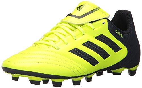 adidas Performance Men's Copa 17.4 FxG Soccer Shoe, Solar Yellow/Legend Ink/Legend Ink, 8 Medium US