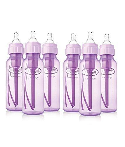 Dr. Brown's Standard Lavender 8 oz Bottles - 6 count by Dr. Brown's (Image #1)