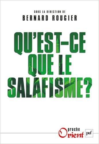 Livres gratuits en ligne Qu'est-ce que le salafisme ? pdf