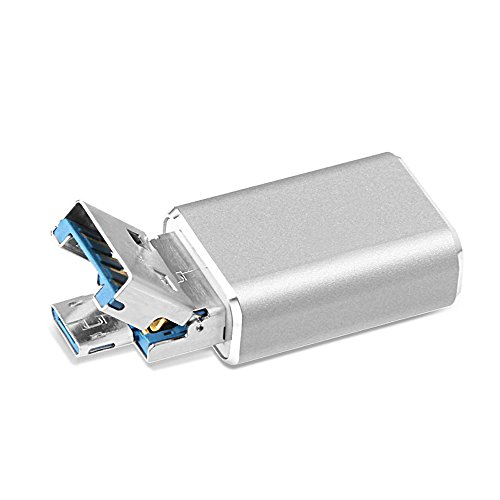 Micro USB Card Reader OTG, GMYLE Micro SD Adapter 2-in-1 USB