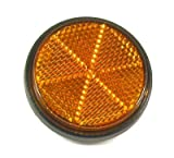 Jaguar Power Sports Scooter/Moped Reflector, Amber For Sale