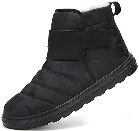 Santiro Mens Womens Snow Boots Winter Shoes Fur Lined Outdoor Boots