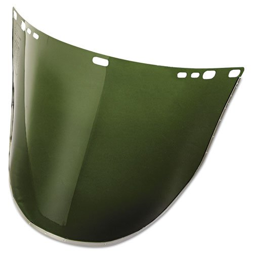 34-42 F30 Acetate Face Shield, Dark Green by Jak