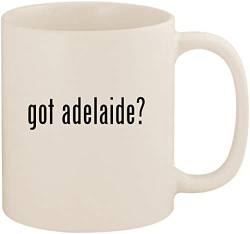 got adelaide? - 11oz Ceramic White Coffee Mug Cup, White