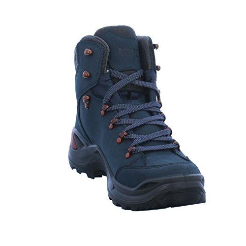 Lowa Herren Renegade GTX M Trekking-& Wanderstiefel Blau (Navy/kupfer 6943)
