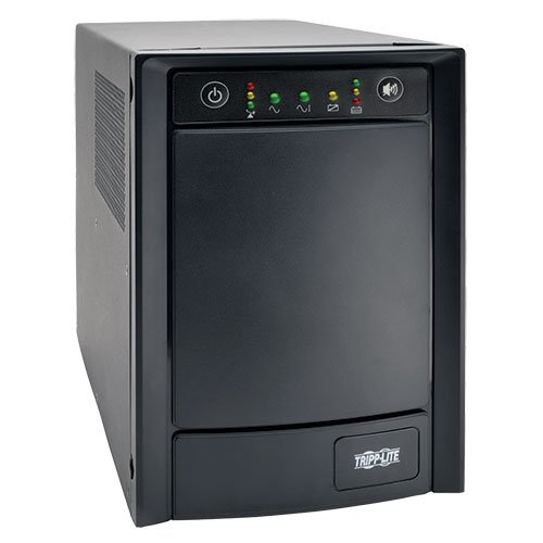 Tripp Lite 1500VA Sine Wave UPS Back Up, 900W Line-Interactive, Tower, USB, DB9, 8 Outlets (SMC1500T)
