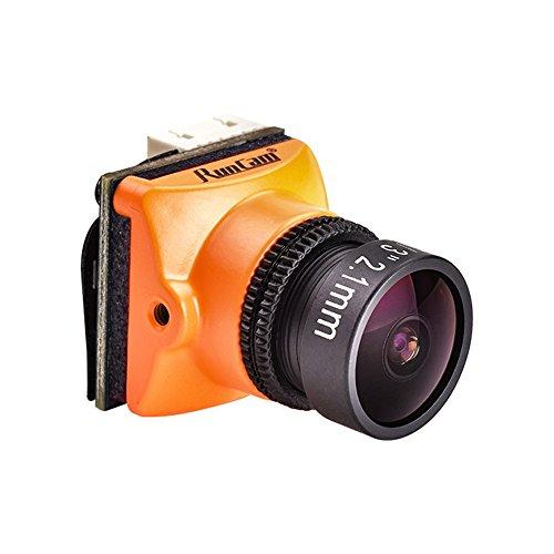 Crazepony Runcam Micro Swift 3 FPV Camera 600TVL 2.1MM FOV165 Degrees M12 Lens NTSC CCD Camera for Racing Drone ()
