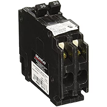 MURRAY MP3030 Duplex Type Mh T Circuit Breaker 120 Vac 30 A 2 P 10 Ka