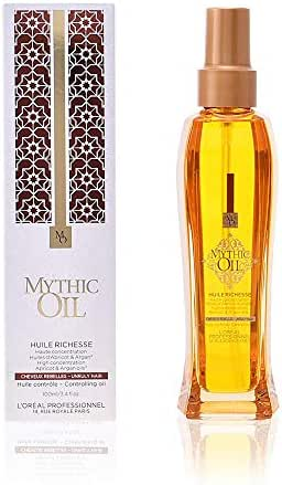 L'Oreal Professional Mythic Rich Women's Oil, 3.4 Ounce