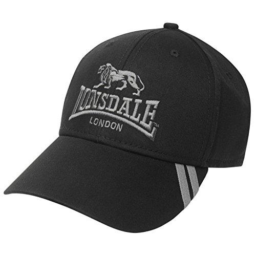 LONSDAL - Gorra de béisbol - para hombre negro / gris Talla única
