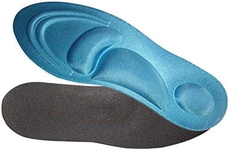 Houer Orthesen-Einlegesohlen Flache Memory-Schaum Füße Fußstütze Schuhpad Orthopädische Fuß-Einlegesohlenpolster, Schwarze Frau