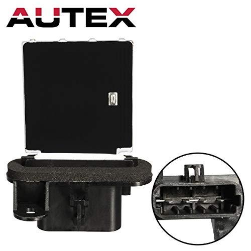 Top AUTEX Manual HVAC Blower Motor Resistor RU464 10398065 1580577 15818910 52486864 Replacement for 2006 2007 2008 2009 2010 Chevy Cobalt Hhr 2007 2008 2009 2010 Pontiac G5 2005 2006 Pontiac Pursuit